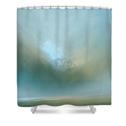 Azure Mist Shower Curtain