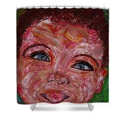 Azuriah Shower Curtain