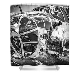 B-25 - Bw Series 2 Shower Curtain