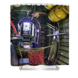 B-24 Shower Curtain