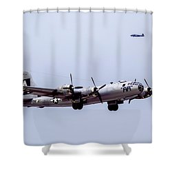 B-29 Superfortress Shower Curtain