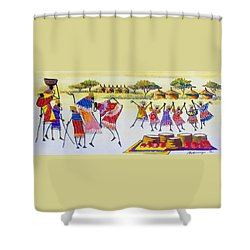 B 350 Shower Curtain