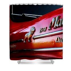 B 61 Mack Truck Shower Curtain