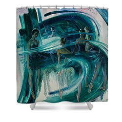 B -allet Shower Curtain