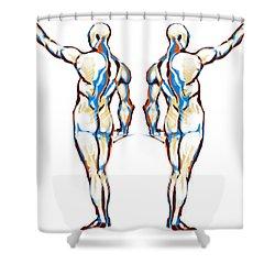 B E Y O N D Shower Curtain