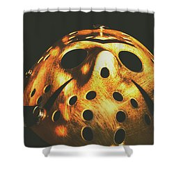 B Grade Madness Shower Curtain