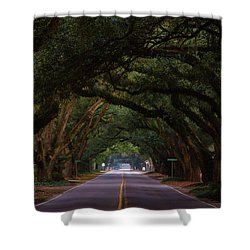 Boundary Ave Aiken Sc 6 Shower Curtain