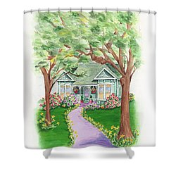 B Street  Shower Curtain
