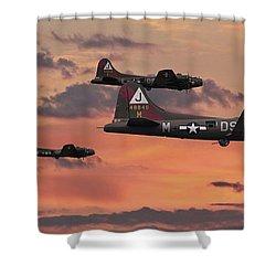 B17 - Sunset Home Shower Curtain