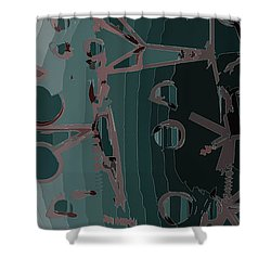 Babble Shower Curtain