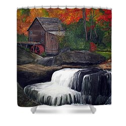 Babcock Mill Shower Curtain by Timothy Smith