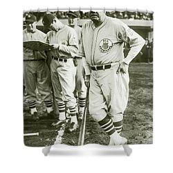 Babe Ruth All Stars Shower Curtain
