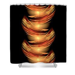 Babel - The Tower To Heaven Shower Curtain by Giada Rossi
