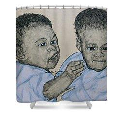 Babies Shower Curtain