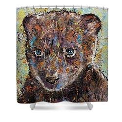 Baby Bear Shower Curtain