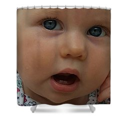 Baby Beauty Shower Curtain