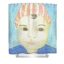 Baby Catherine Shower Curtain