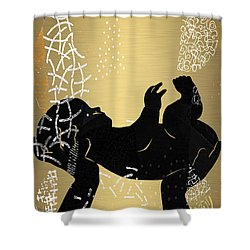 Baby Celebration Shower Curtain