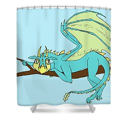 Baby Clarence Shower Curtain