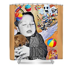 Baby Dreams Shower Curtain