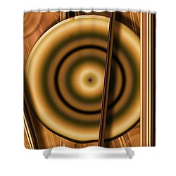 Baby Got A Ball #4 Shower Curtain by Steve Sperry