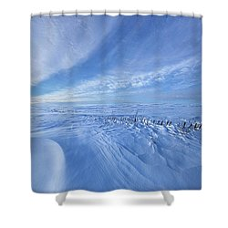 Shower Curtain featuring the photograph Baby It's Cold Outside by Phil Koch