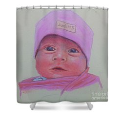 Baby Lennox Shower Curtain by Rae  Smith PAC