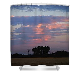Baby Thunderstorm Shower Curtain