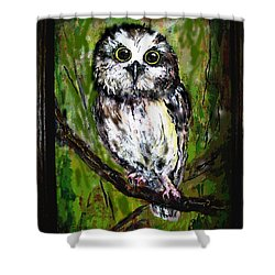 Baby's Eyes Shower Curtain