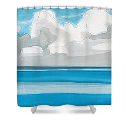 Bacalar, Mexico Shower Curtain by Dick Sauer