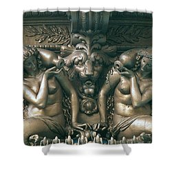 Bacchus Shower Curtain