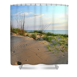 Back Bay Dunes Shower Curtain