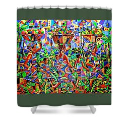 Back From The Harvest Shower Curtain