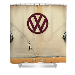 Back In The Day Shower Curtain by Robin Dickinson
