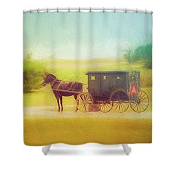 Shower Curtain featuring the photograph Back In Time by Joel Witmeyer