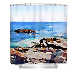 Back Shore, Gloucester, Ma Shower Curtain