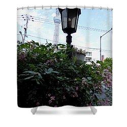 Back Street In Tokyo Shower Curtain