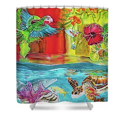 Back To Eden Shower Curtain