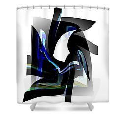 Back To Life  Shower Curtain by Thibault Toussaint