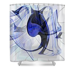 Back To Life 4 Shower Curtain by Thibault Toussaint