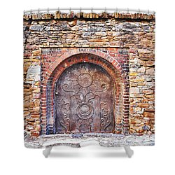 Back To Medieval Times Shower Curtain