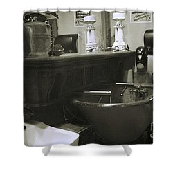 Shower Curtain featuring the photograph Back When by Lori Mellen-Pagliaro