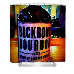 Backbone Bourbon Shower Curtain