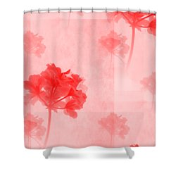 colour choice Romance Shower Curtain
