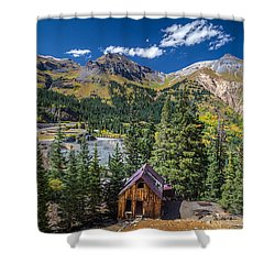 Backroads In San Juan Mountains Shower Curtain