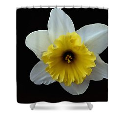 Backyard Flower II Shower Curtain