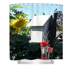 Backyard Garden Shower Curtain