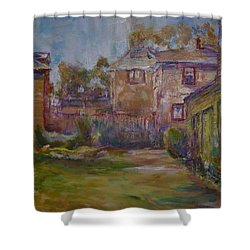 Backyard Impressions Shower Curtain