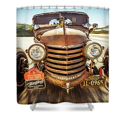 Shower Curtain featuring the photograph Bad Boy's Toy by Jola Martysz