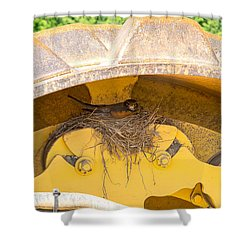 Bad Decisions Shower Curtain